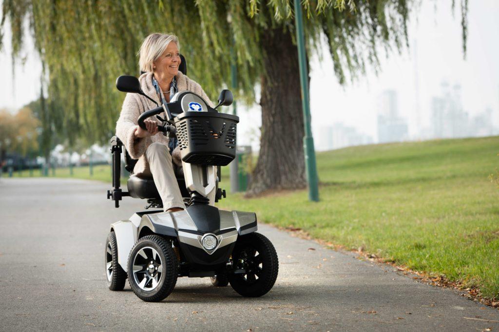 Scooter pour Sénior Vermeiren Mercurius 4 LE
