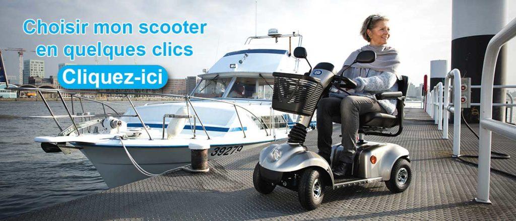 Choisir mon scooter pour séniors en quelques clics